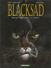 Blacksad -1c- Quelque part entre les ombres