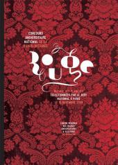 Concours universitaire national de la bande dessinée -3- 2008 - Rouge