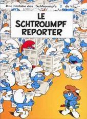 Les schtroumpfs (Édition 50 ans - minis) -9Mini- Le schtroumpf reporter