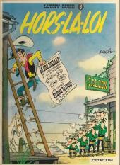 Lucky Luke -6d87- Hors-la-loi