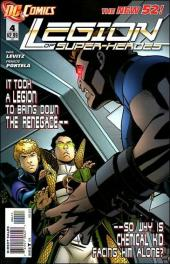 Legion of Super-Heroes (2011) -4- Not what they seem?
