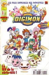 Digimon (Comics) -1- La BD de la série télé !