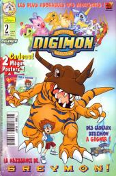 Digimon (en comics) -2- La naissance de Greymon !