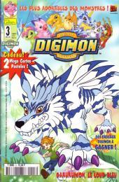 Digimon (Comics) -3- Garurumon, le loup bleu