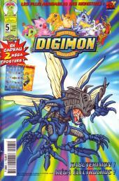Digimon (en comics) -5- Kabuterimon ! Méga électrochoc !