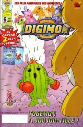 Digimon (en comics) -6- Togemon à Joujou-ville !
