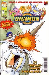 Digimon (Comics) -7- La torpille-harpon d'Ikkakumon !