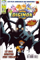 Digimon (Comics) -8- Le mal montre son visage !