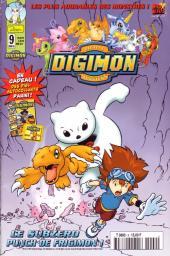 Digimon (Comics) -9- Le Subzero, punch de Frigimon !
