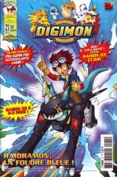 Digimon (Comics) -21- Raidramon, la foudre bleue !