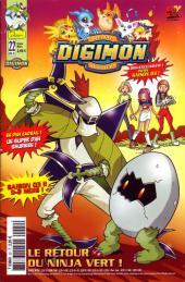 Digimon (en comics) -22- Le retour du Ninja vert !