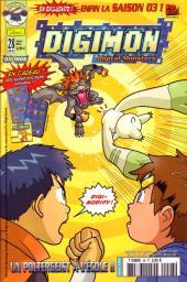 Digimon (en comics) -28- Un Poltergeist à l'école !!