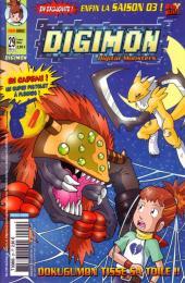 Digimon (en comics) -29- Dokugumon tisse sa toile !!