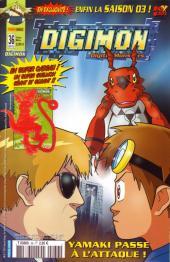 Digimon (Comics) -36- Yamaki passe à l'attaque !