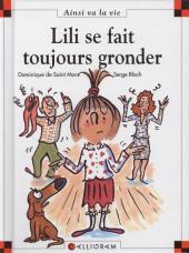 Ainsi va la vie (Bloch) -48- Lili se fait toujours gronder