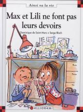 Ainsi va la vie (Bloch) -62- Max et Lili ne font pas leurs devoirs