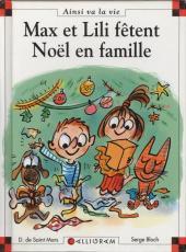 Ainsi va la vie (Bloch) -82- Max et Lili fêtent Noël en famille