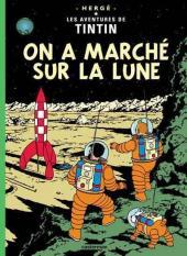 Tintin (Historique) -17C5- On a marché sur la lune