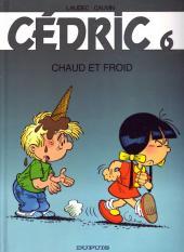 Cédric -6a2001- Chaud et froid