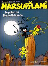 Marsupilami -4c- Le pollen du Monte Urticando