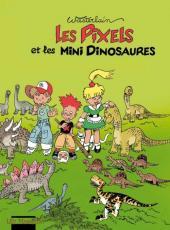 Les pixels -3- Les Pixels et les mini dinosaures