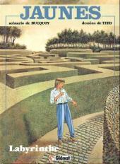 Jaunes -7a- Labyrinthe