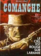 Comanche -4a76- Le ciel est rouge sur Laramie