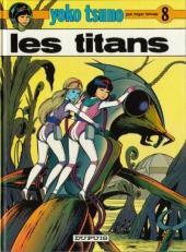 Yoko Tsuno -8c04- Les titans
