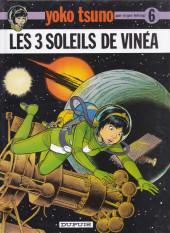 Yoko Tsuno -6Pub- Les 3 soleils de Vinéa