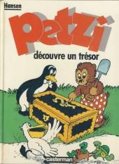 Petzi (Seconde série) -5- Petzi découvre un trésor