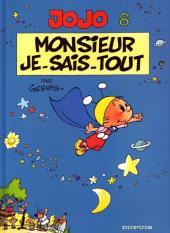 Jojo (Geerts) -8a04- Monsieur Je-sais-tout