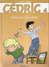 Cédric -4c05- Papa a de la classe