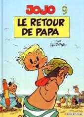 Jojo (Geerts) -9a- Le retour de papa