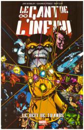 Marvel Gold -1- Le gant de l'infini - Le défi de Thanos