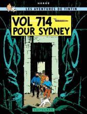 Tintin (Historique) -22C6b- Vol 714 pour Sydney
