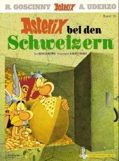 Astérix (en langues étrangères) -16Suisse- Asterix bei den Schweizern