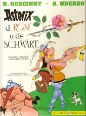 Astérix (en langues étrangères) -29Bernoi- Asterix d rose u ds schwart