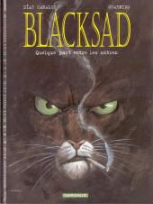 Blacksad -1- Quelque part entre les ombres