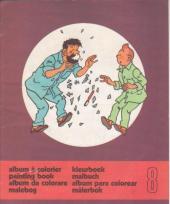 Tintin (Album à colorier) -5/08- Album à colorier n°8