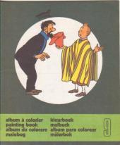 Tintin (Album à colorier) -5/09- Album à colorier n°9