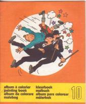 Tintin (Album à colorier) -5/10- Album a colorier n°10