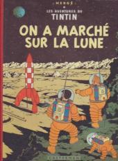 Tintin (Historique) -17B12b- On a marché sur la lune