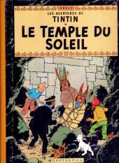 Tintin (Historique) -14B34- Le temple du soleil