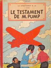 Jo, Zette et Jocko (Les Aventures de) -1B08- le testament de M.Pump