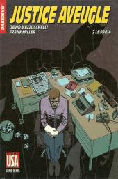 Super Héros (Collection Comics USA) -27- Daredevil : Justice aveugle 2/4 - Le paria
