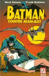Super Héros (Collection Comics USA) -3- Batman contre Man-Bat