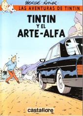 Tintin - Pastiches, parodies & pirates -35ESP- Tintin y el arte-alfa