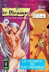 Le vicomte (Comics Pocket) -4- Le Vicomte en eaux troubles