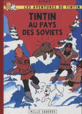 Tintin - Pastiches, parodies & pirates -4a- Tintin au pays des soviets