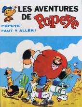 Popeye (MCL) -6- Popeye faut y aller !